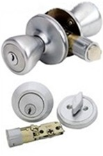 ENTRANCE LOCK & DEADBOLT SET