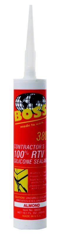 CLEAR BOSS 378 SILICONE CAULK