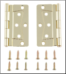 Brass Interior Door Hinges