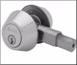 E-Z Set Single Deadbolt - Stainless Steel