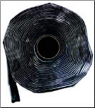"BLACK BUTYL TAPE - 2"" WIDE"