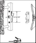 Sliding Patio Door Lock ( Old Style)